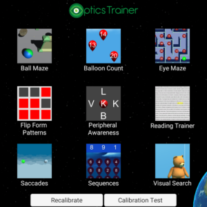 Optics Trainer Eye Tracking (Software Only) - Unlimited